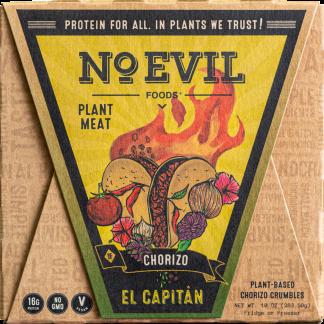 No Evil Foods El Capitan Chorizo