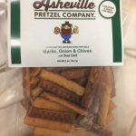 Asheville Pretzel Company Garlic Onion and Chives 2 oz bag