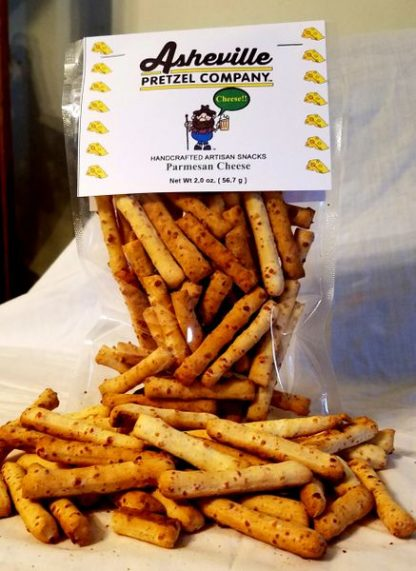 Asheville Pretzel Company Cheese Sticks 2 oz bag