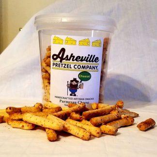 Asheville Pretzel Company Cheese Sticks 4 oz tub