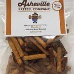 Asheville Pretzel Company Mustard 5 oz Bag