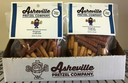 Asheville Pretzel Company Display Box