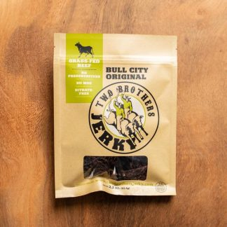 TWo Brothers Jerky Bull City Original