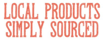 Regional Goods is Local Products Simply Sourced