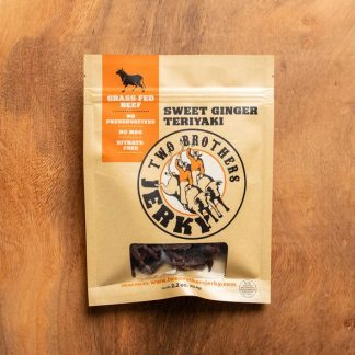 Two Brothers Jerky Sweet Ginger Teriyaki
